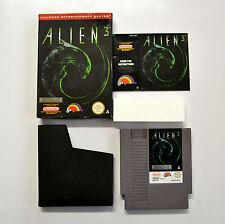 [ NES ] Alien 3 PAL A UKV Usato Nintendo Nes Scatolato con Manuale 8 BIT