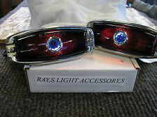 NEW REPLACEMENT BLUE DOT TAIL LIGHTS ASSEMBLIES FOR 41 42 46 47 48 CHEVROLET !