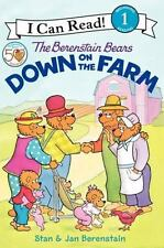 The Berenstain Bears Down on the Farm (I Can Read Book 1)-ExLibrary