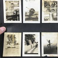 Photo Album w/ 100+ Photos Planes Airplanes Military WW2 crashes advertising W@W