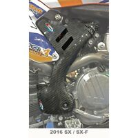 PRO CARBON RACING KTM SX150 16-18 TALL FRAME PROTECTION GUARDS PAIR