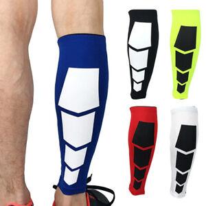 Sports Leg Warmers Lower Leg Pressure Sleeve Socks High Elasticity 1 Piece