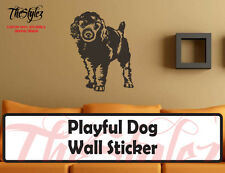 Playful Dog Oversize Wall Vinyl Sticker