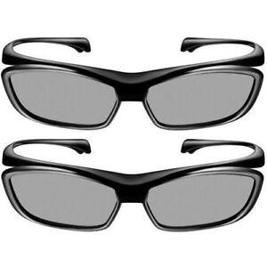 100% Original X2 Panaconic TY-EP3D10UB 3D Polarized Eyewear