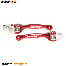 RFX Flexi Pivot Forged Brake Clutch Levers Beta RR 430/450/498 2013 - 2017 Red