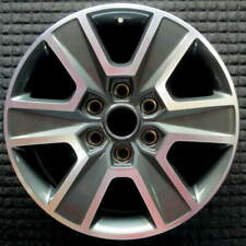 Ford F-150 Machined w/ Charcoal Pockets Gloss Clear 18 inch OEM Wheel 2015 to
