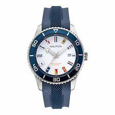 Nautica Men's Pacific Beach NAPPBF914 Blue Silicone Quartz Fashion Watch