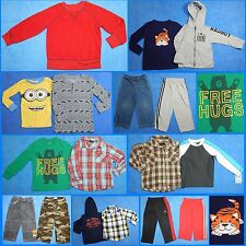 17 Piece Lot of Nice Clean Boys Size 3t 3 Fall Winter Everyday Clothes fw24