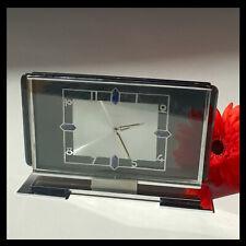 Kienzle Tischuhr__Art Deco__mechanisch__mantle clock__8Tage Werk_8 days__6 Rubis