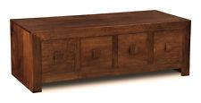 Living Room Furniture Dark Dakota Solid Mango Trunk Coffee Table (39n)