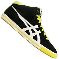 Asics Onitsuka Tiger Aaron Femmes Chaussures Baskets Mexico Noir Blanc Jaune 36