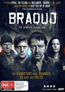 Braquo : Season 1 (DVD, 2012, 2-Disc Set) New Sealed Region 4