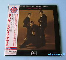 SPENCER DAVIS GROUP Their First LP JAPAN mini lp cd UICY-93173 Winwood new