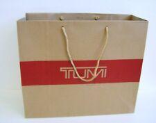 "Tumi Authentic Medium Paper Shopping Bag Gift Bag 16"" X 13.5"" X 6"""