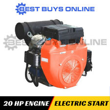 20 HP ENGINE ELECTRIC START OHV Stationary or Log Splitter-Water Pump-Generator