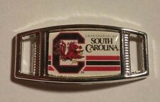Lot of 2 University Of South Carolina GAMECOCKS Shoelace Charms 4 Projects NCAA