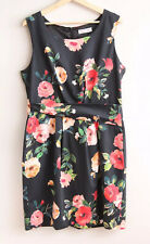 *New* ALANNAH HILL Size 16 Floral 'Rose Stories' Column Pencil DRESS $299