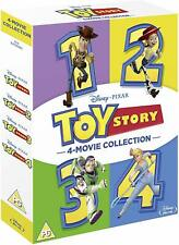 Toy Story 1-4 4 Movie Collection Blu-Ray Box Set Brand New Free Ship