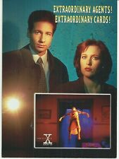 X FILES TOPPS OVERSIZED 1995 SEASON 2 PROMO CARD - RARE
