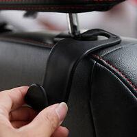 1x Black Car Seat Hook Purse Bag Hanger Bag Organizer Holder Clip Accessories df