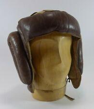 Original vintage Brown Leather Boxing Headgear