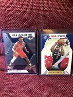 2019-20 PANINI MOSAIC ZION WILLIAMSON NBA DEBUT RC + Hoops
