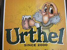 Thick Cardboard Poster <> De Leyerth Brouwerijen (Urthel) ~*~ Belgium Since 2000