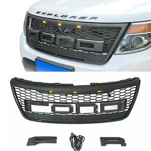 Replacement Grille Ford Explorer 2012 2013 2014 2015 All Model Grill w/ Letters