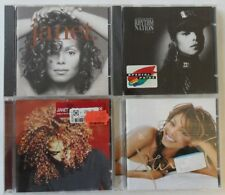Janet Jackson CD Sammlung - 4 verschiedene CDs (Janet., Rhythm Nation 1814,...)
