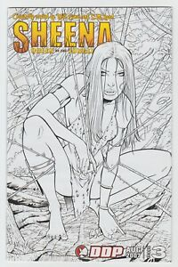 Sheena Queen of the Jungle (2007) #3 - Incentive Cover - DDP