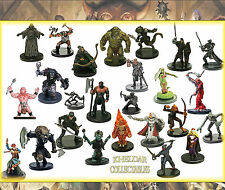10 PACK LOT - Dungeons & Dragons / Pathfinder Miniatures, D&D Figures, RPG minis