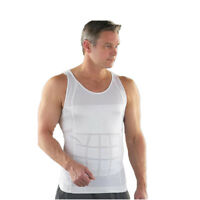 Men's Slim Tummy Belly Body Shaper Compression Trainer Vest Underwear Shapewear