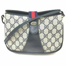 Gucci Shoulder Bag  Navy Blue PVC 1505822