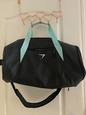 Gymshark Gymbag In Black And Mint Green