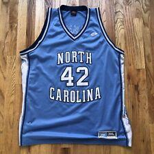 Vintage Nike North Carolina Tar Heels Jerry Stackhouse Basketball Jersey Sz 3XL