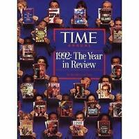 Time Annual 1992 : The Year in Review Hardcover Time-Life Books
