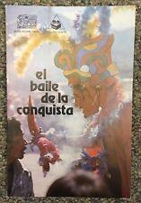 """Like-new copy of """"El baile de la conquista"""" (1981)"""