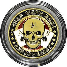 Casino Poker Card Guard Cover Protector DEAD MAN'S HAND