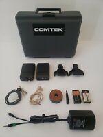 Comtek  PR-72b Companion Wireless Receiver TV-11 on 21 Crystal w//Belt Clip Case