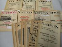 Cuban Revolution Fidel Castro Nation Magazine Vintage Back Issues Communist 1957