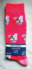 Brand New, cute, bright, Pit Bull Terrier dog Adult socks with Free Shipping !