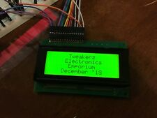 20x4 Character LCD Display (Optrex DMC20481NY)