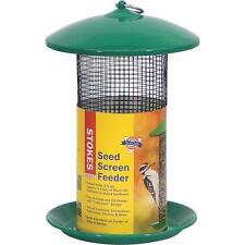 "2-Stokes Select 8.6"" D X 13.1"" H Sunflower Seed Screen Hanging Bird Feeder 38175"