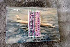 vintage Japan Airlines souvenir deck Bridge Playing Cards in plastic box sealed