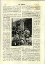 1896 Miss Ellen Terry's Cottage a Winchelsea Miss Mabel Hardinge