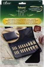 Clover Takumi Interchangeable Circular Knitting Needles Combo Set 3683 NEW