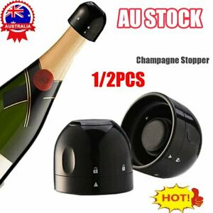 Silicone Sealed Champagne Stopper Red Wine Bottle Preserver Vacuum Plug Tools AL