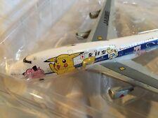 Dragon Wings Jet Air 1/400 ANA Pokemon/Pocket Monsters Boeing 747-481