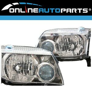 LH+RH Replacement Headlights Pair for Nissan X-Trail 2001-2003 SUV Left Right