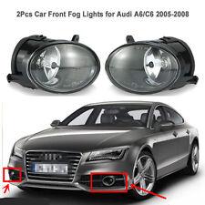 Driving fog lights Lamp for 2005 - 2008 Audi A6 C6 sedan front lower bumper